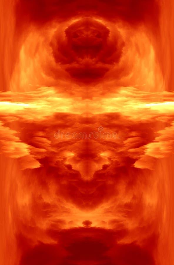 Esplosione illustrazione vettoriale
