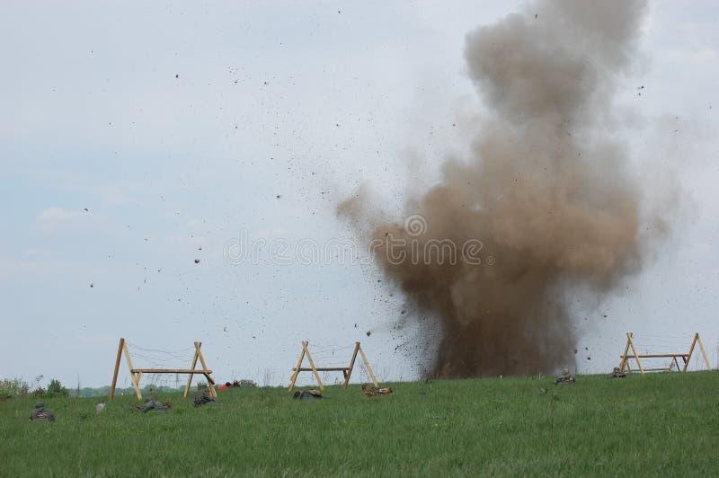 Esplosione. fotografie stock