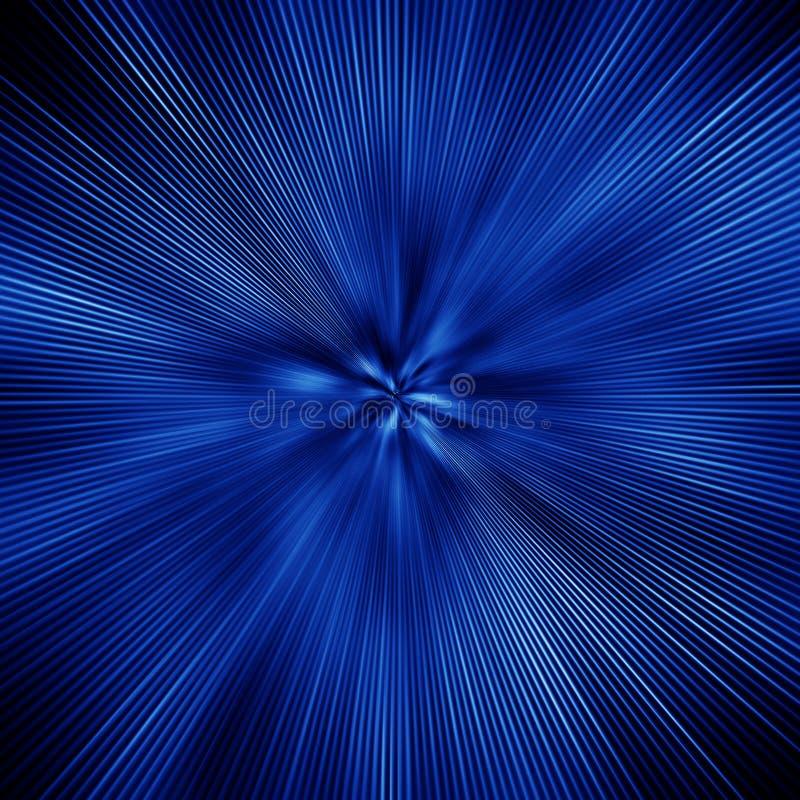 Esplosione Blu Immagine Stock Libera da Diritti