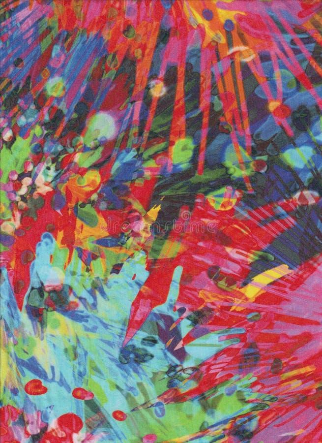 Esplosione dei colori come fuochi d'artificio fotografia stock libera da diritti