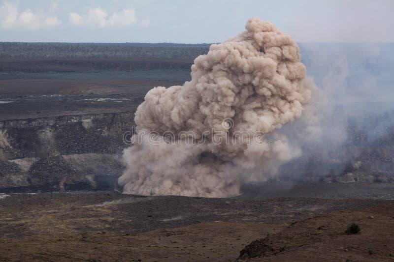 Esplosione di Kilauea fotografia stock