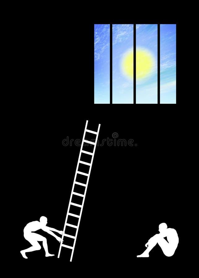 Espoir illustration libre de droits