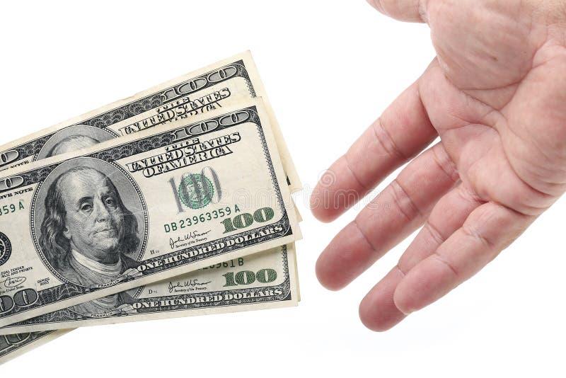 Espoir d'argent photographie stock