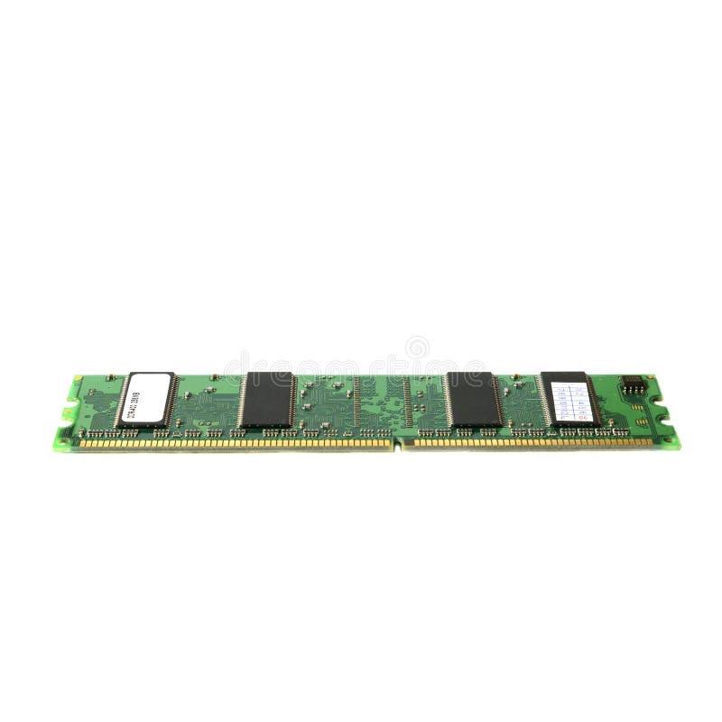 Espolón viejo DDR2 de la CPU Memoria de acceso aleatorio para el ordenador imágenes de archivo libres de regalías