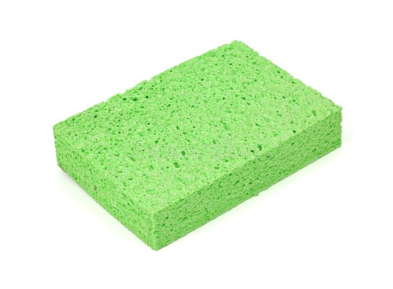 Esponja verde imagens de stock