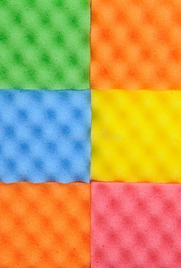 Download Esponjas da limpeza imagem de stock. Imagem de cozinha - 12809735