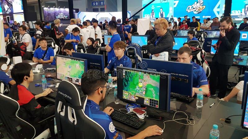 World Cyber Games WCG 2019, China