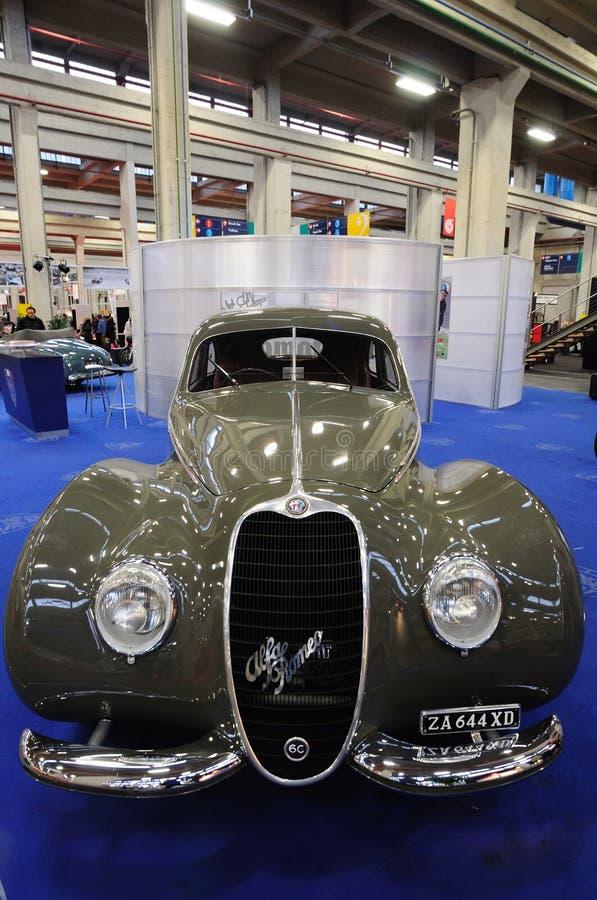 Esporte 1939 de Alfa Romeo 6 C 2500 imagem de stock