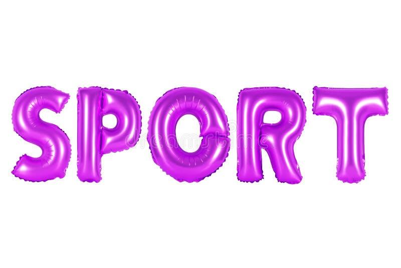 Esporte, cor roxa imagem de stock