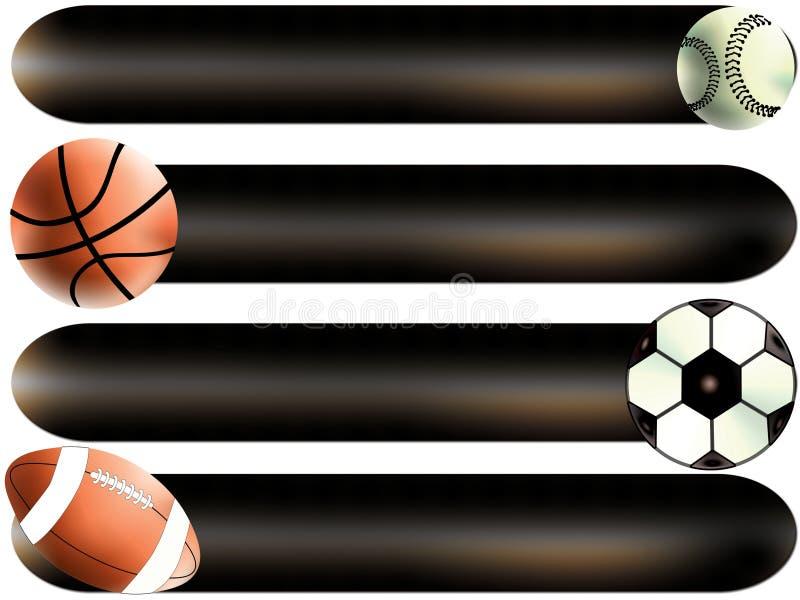 Esporte das esferas ilustração stock