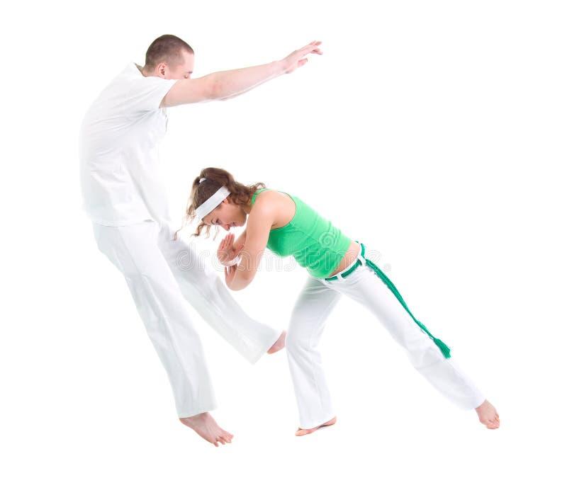 Esporte de contato. Capoeira. imagens de stock royalty free