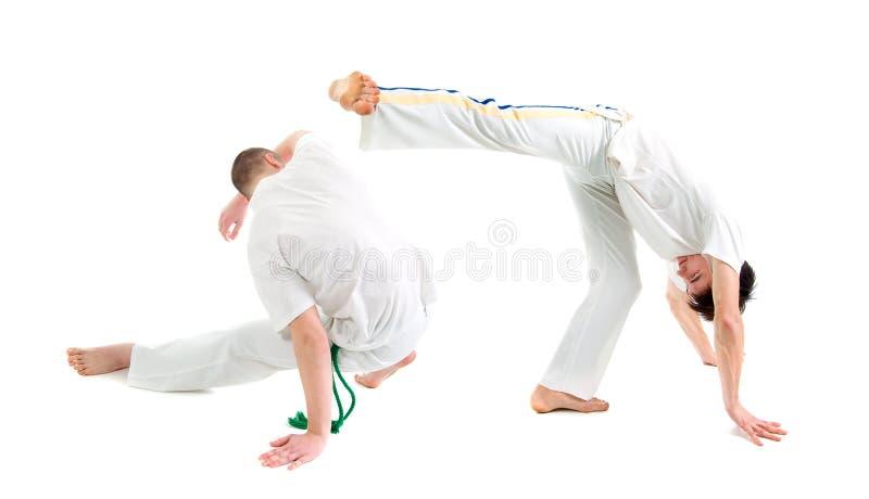 Esporte de contato. Capoeira. foto de stock royalty free