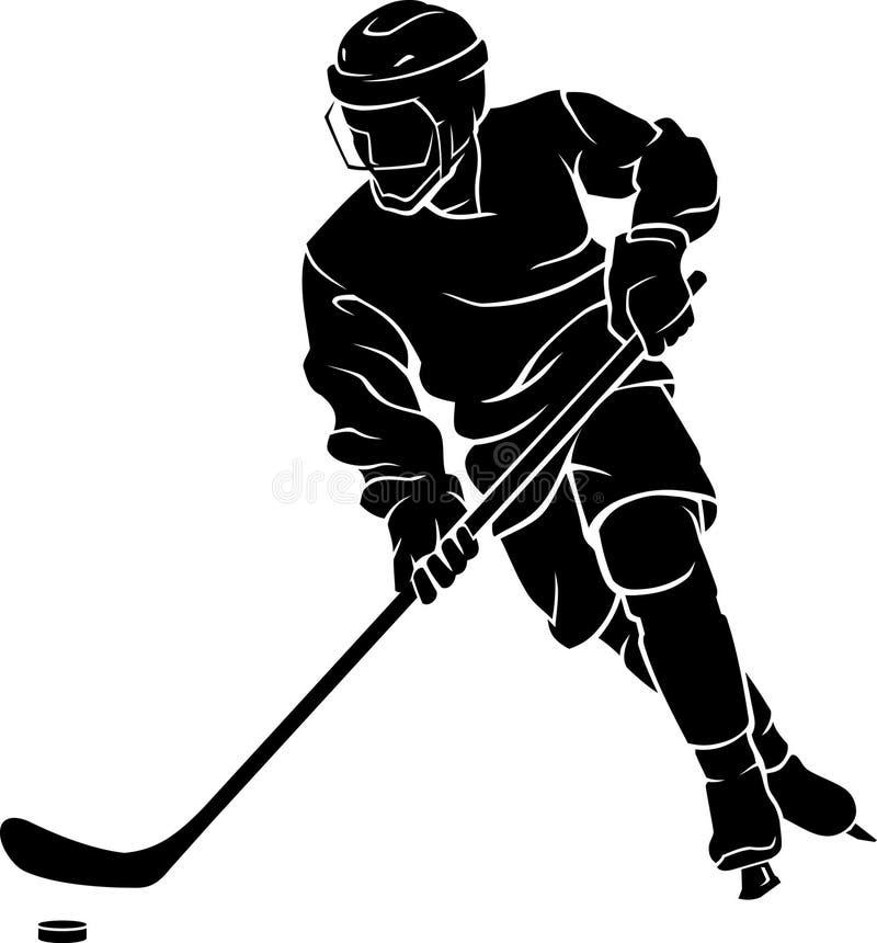 Esporte De Hóquei No Gelo ilustração royalty free