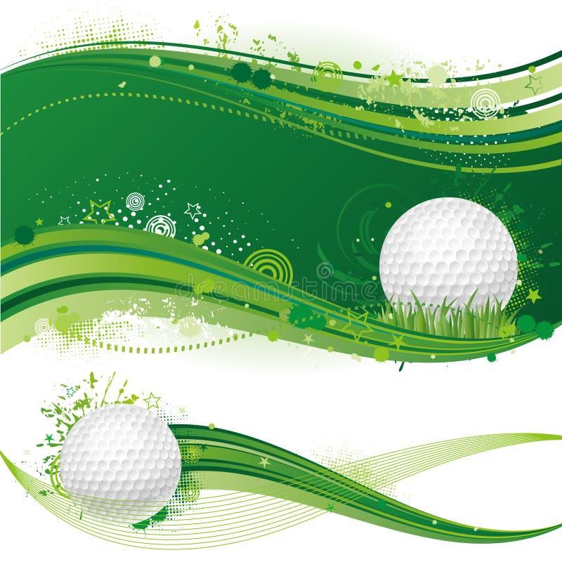esporte do golfe ilustração royalty free