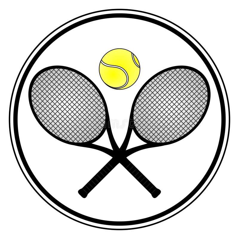 Esporte do tênis ilustração stock