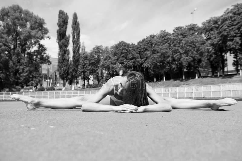 Esporte e ioga imagem de stock