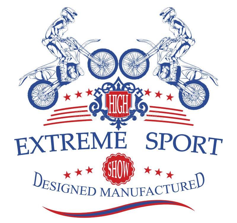 Esporte extremo ilustração do vetor