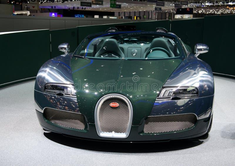 Esporte grande Vitesse 2014 de Bugatti Veyron imagem de stock