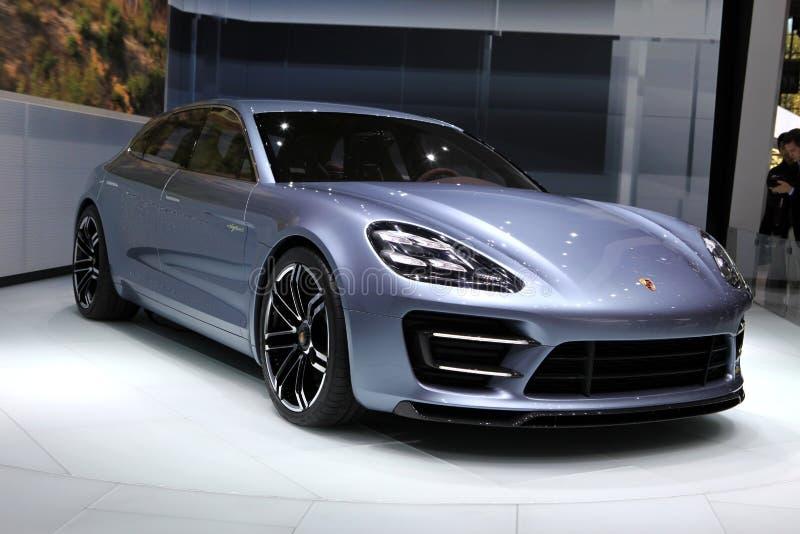 Esporte Turismo de Porsche Panamera fotografia de stock royalty free