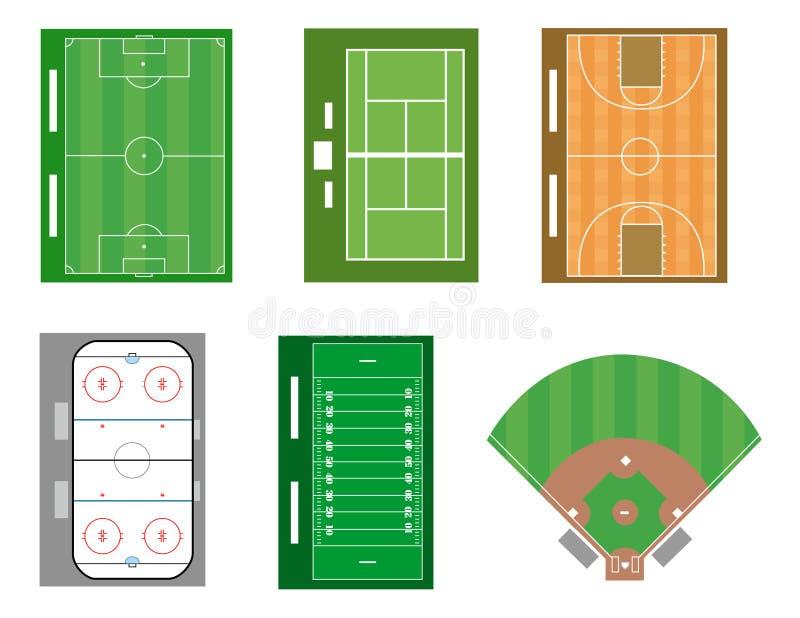 Esportes ilustração royalty free