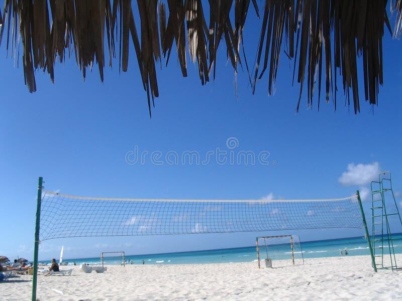 Esportes da praia fotos de stock