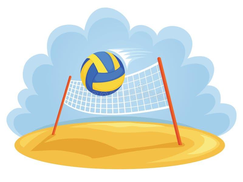 Esportes do verão ilustração do vetor