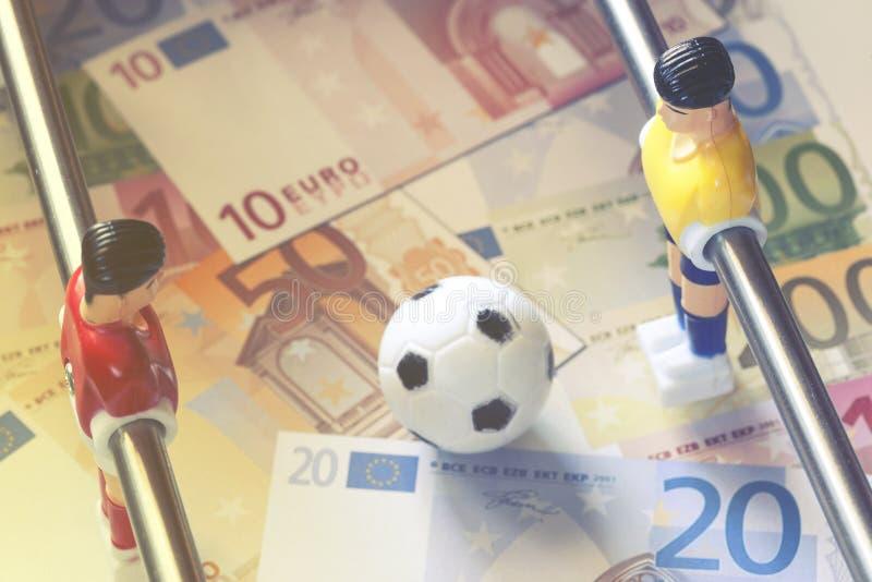 Esportes e dinheiro imagens de stock
