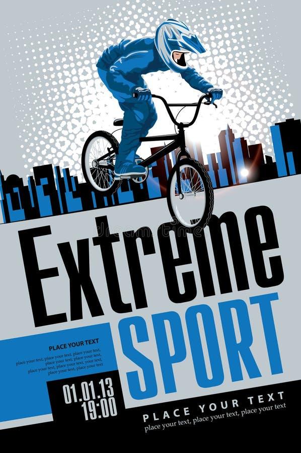 Esportes extremos ilustração stock