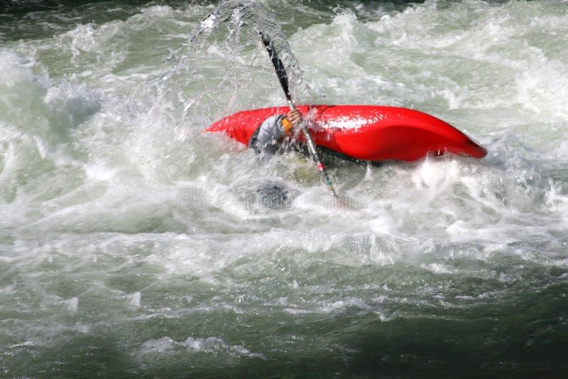 Esportes extremos - caiaque foto de stock