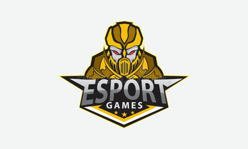 Esports del juego del logotipo de los starwars de los ejemplos, mascota libre illustration