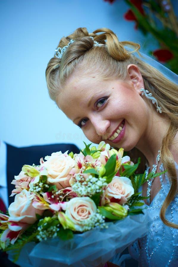 Esposa de la boda fotos de archivo
