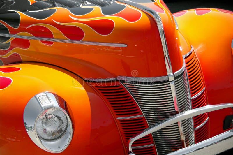 esposizione classica dell'automobile fotografie stock libere da diritti