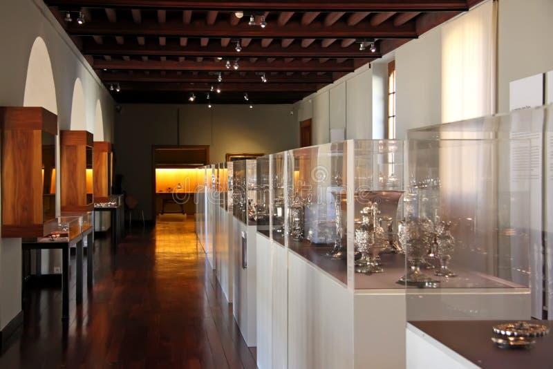 Esposizione del museo fotografie stock