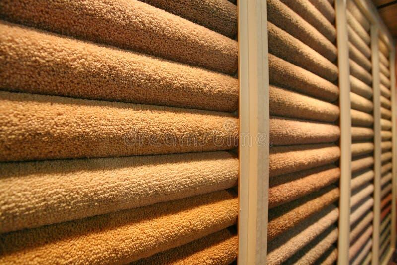 Esposizione del tappeto fotografia stock libera da diritti