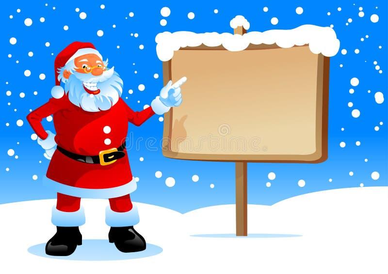 Esposizione della Santa sulla scheda illustrazione vettoriale