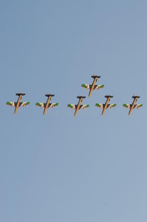 Esposizione di aria internazionale della Bahrain 2012 fotografie stock