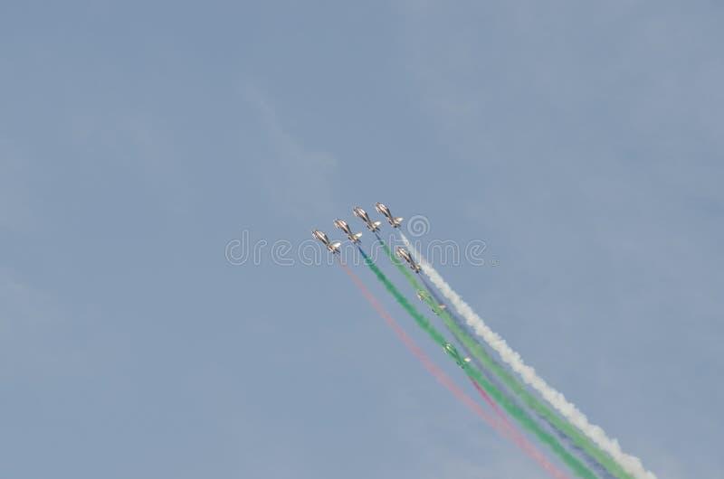 Esposizione di aria internazionale della Bahrain 2012 fotografia stock libera da diritti