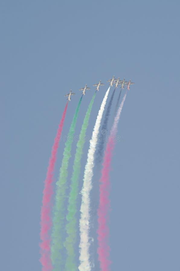 Esposizione di aria internazionale della Bahrain 2012 fotografie stock libere da diritti