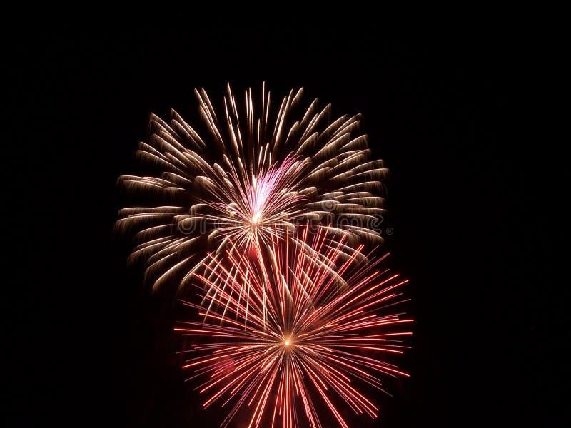 Esposizione III dei fuochi d'artificio fotografia stock