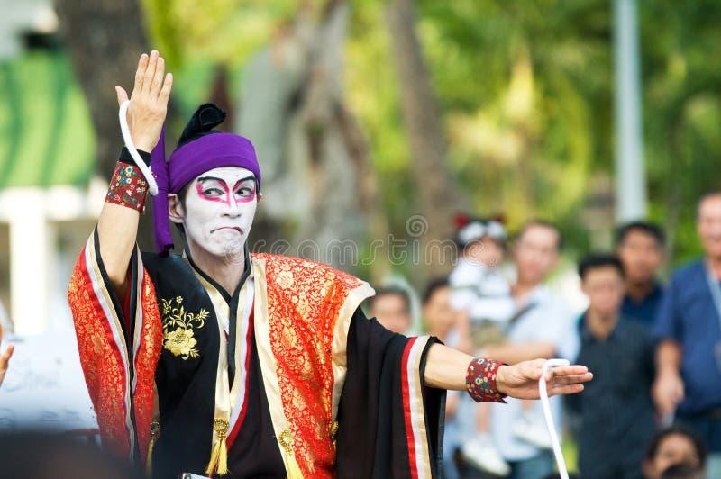 Esposizione internazionale della via a Bangkok 2010 immagine stock libera da diritti