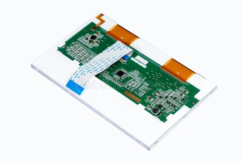 Esposizione LCD posteriore immagini stock libere da diritti