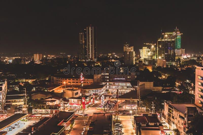 Esposizione lunga di Cebu immagine stock