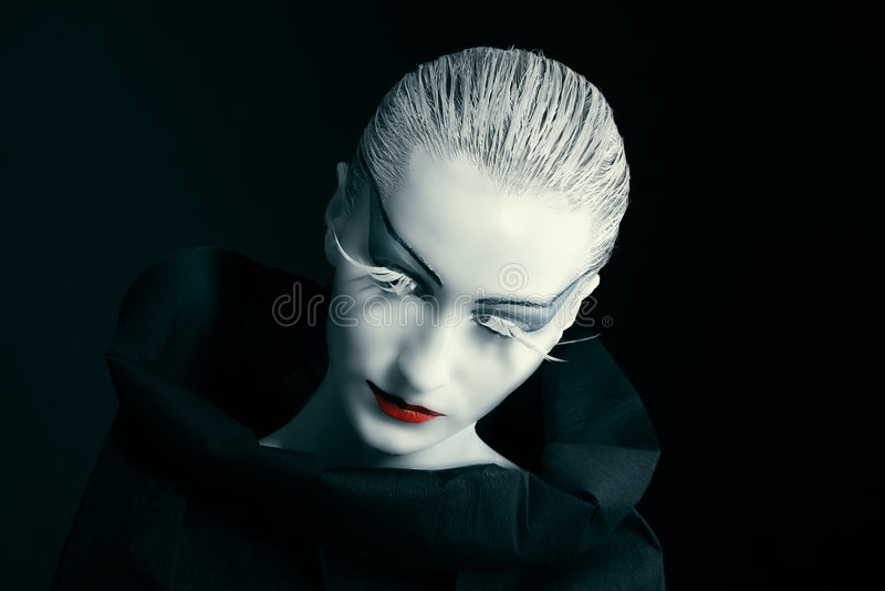 esposizione Nero-bianca fotografie stock
