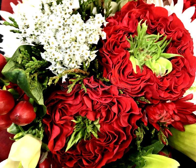 Espray mezclado colorido, ramo floral, muchos diversos colores fotografía de archivo
