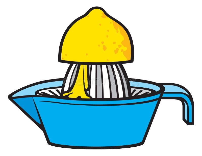 Espremedor de frutas do limão ilustração do vetor