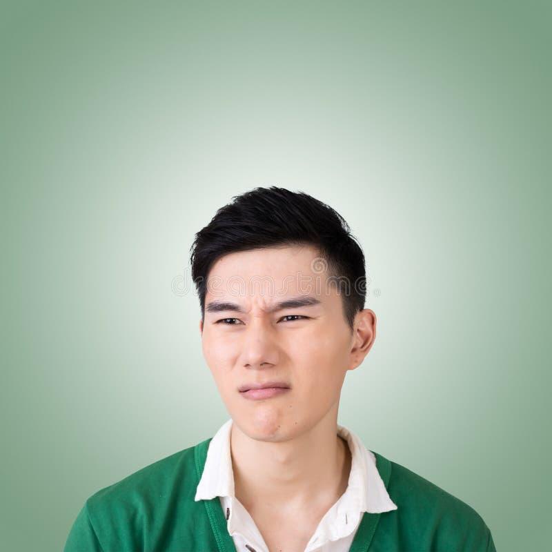 Espressione facciale divertente fotografie stock libere da diritti