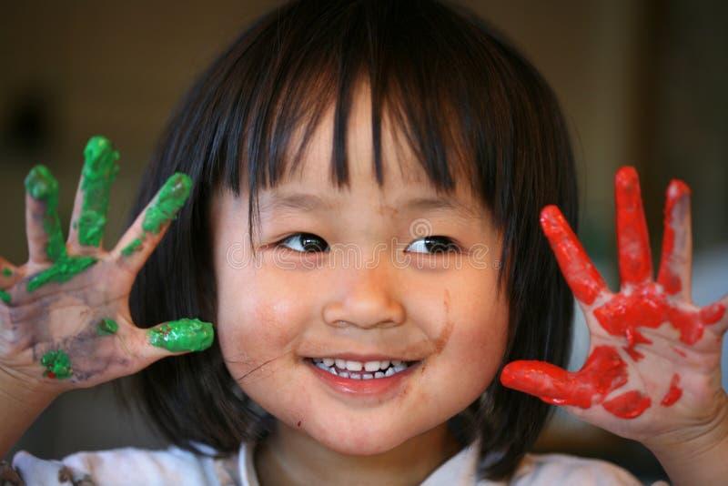 Espressioni dei bambini fotografie stock libere da diritti