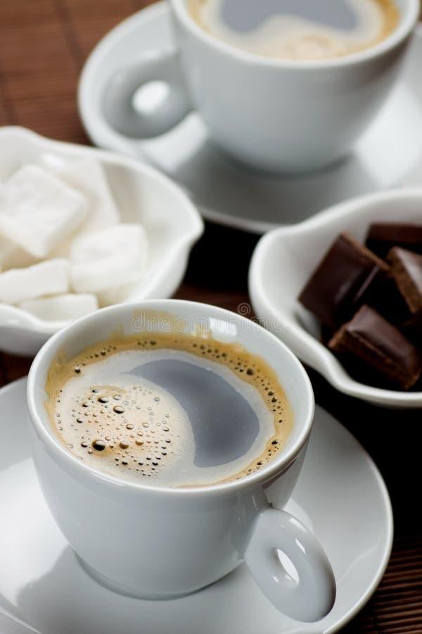 espresso καφέ στοκ φωτογραφία