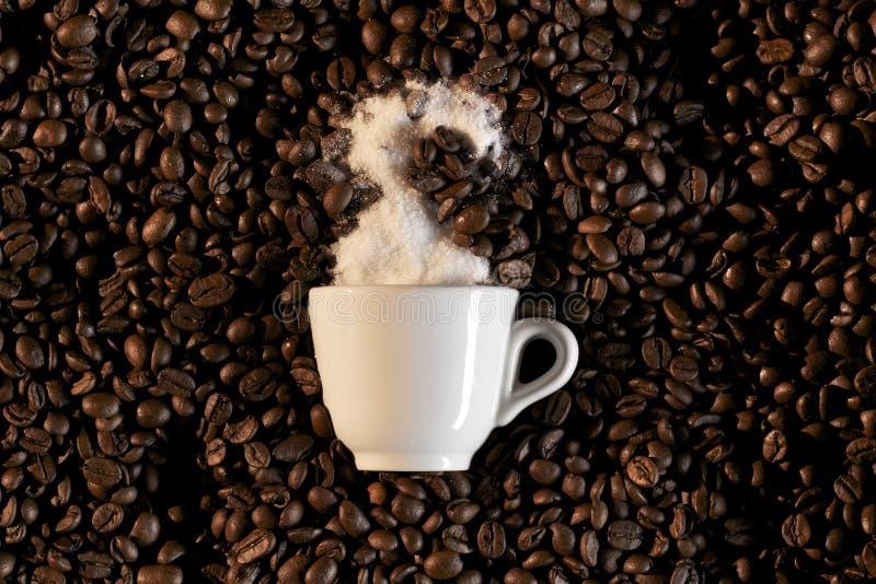 espresso φλυτζανιών φασολιών caffe coffe στοκ φωτογραφίες με δικαίωμα ελεύθερης χρήσης