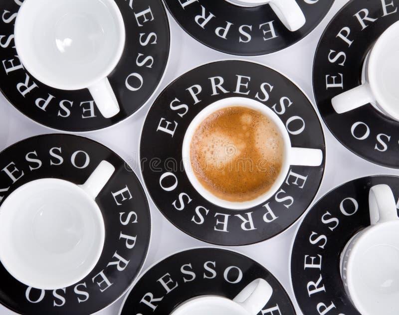 espresso φλυτζανιών στοκ φωτογραφίες με δικαίωμα ελεύθερης χρήσης